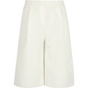 Girls cream culottes