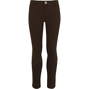 Girls brown Molly jeggings
