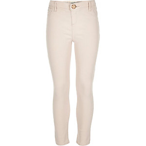 Girls light pink Molly jeggings