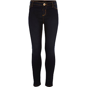 Girls dark wash Molly jeggings