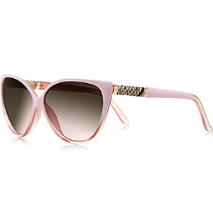 Girls pink cateye sunglasses