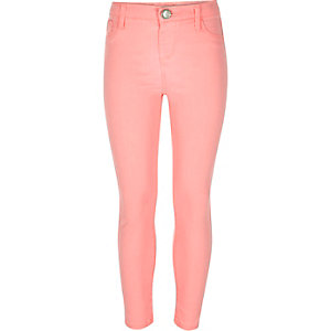 Girls pink Molly jeggings