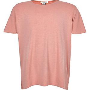 Girls pink cape back t-shirt