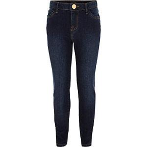 Girls dark wash Amelie superskinny jeans