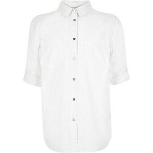 Girls white shirt