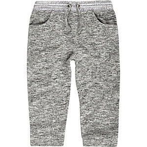Mini girls grey joggers