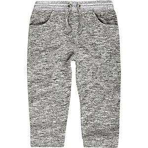 Bas de jogging gris mini fille