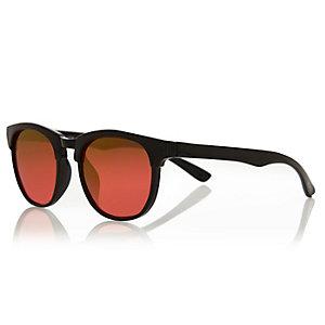 Mini girls black contrast lens sunglasses