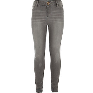 Graue Molly-Jeggings