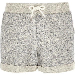 Girls grey boxy shorts