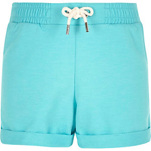 Girls blue boxy shorts