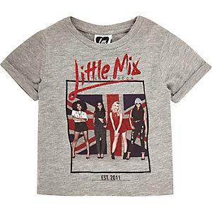 Mini girls Little Mix print t-shirt