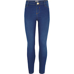 Girls blue Molly jeggings