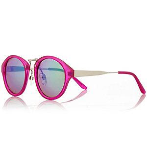 Girls pink mirrored sunglasses