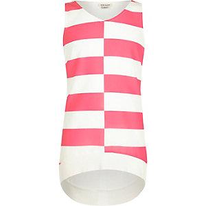 White stripe tank top