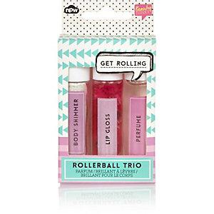 Girls NPW rollerball trio