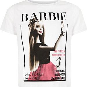 "T-Shirt in Creme ""Barbie Selfie"""