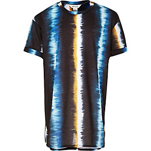 Boys black tie dye t-shirt