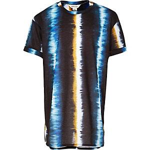 Girls black tie dye t-shirt