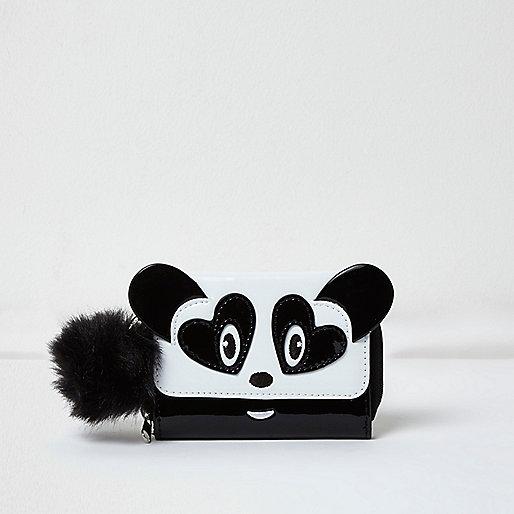 Weiße Panda-Geldbörse