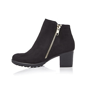 Girls black boots