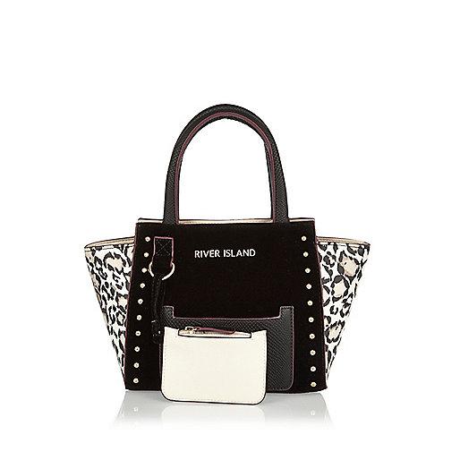 Tote Bag in Schwarz und Weiß