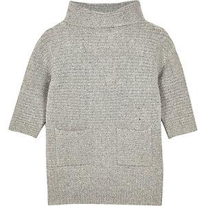 Pulloverkleid mit Rollkragen