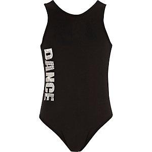 "RI Active – Schwarzer Body ""Dance"""