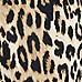 Robe néoprène imprimé léopard taille basse pour fille