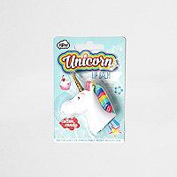 Girls unicorn scented lip balm