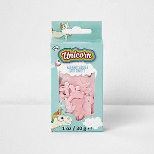 Girls unicorn bath confetti