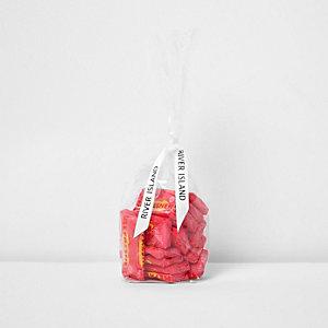 Pinke Erfrischungs-Süßigkeiten