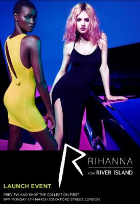 YesWeTrend- Colección de Rihanna para Riverisland.com