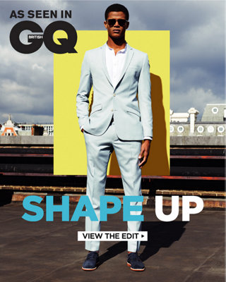 AS SEEN IN GQ - SHAPE UP