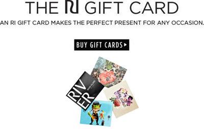 The RI Gift Card