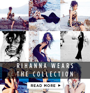 RIHANNA WEARS THE COLLECTION