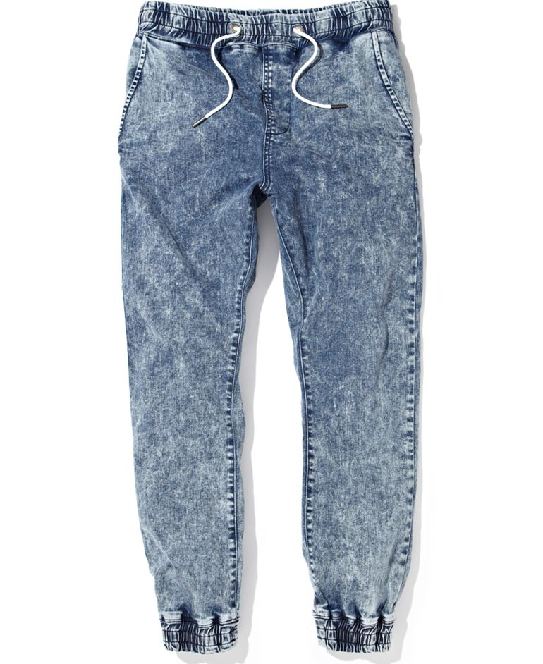 New Book Of Denim Jogger Pants Women In Uk By Emily U2013 Playzoa.com
