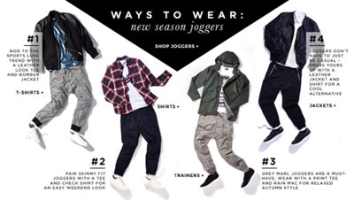 WAYS TO WEAR: JOGGERS