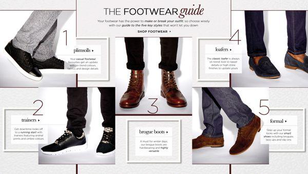 THE FOOTWEAR GUIDE