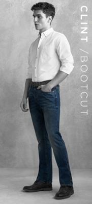 CLINT /BOOTCUT JEANS