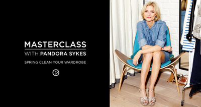SPRING CLEAN YOUR WARDROBE WITH PANDORA SYKES