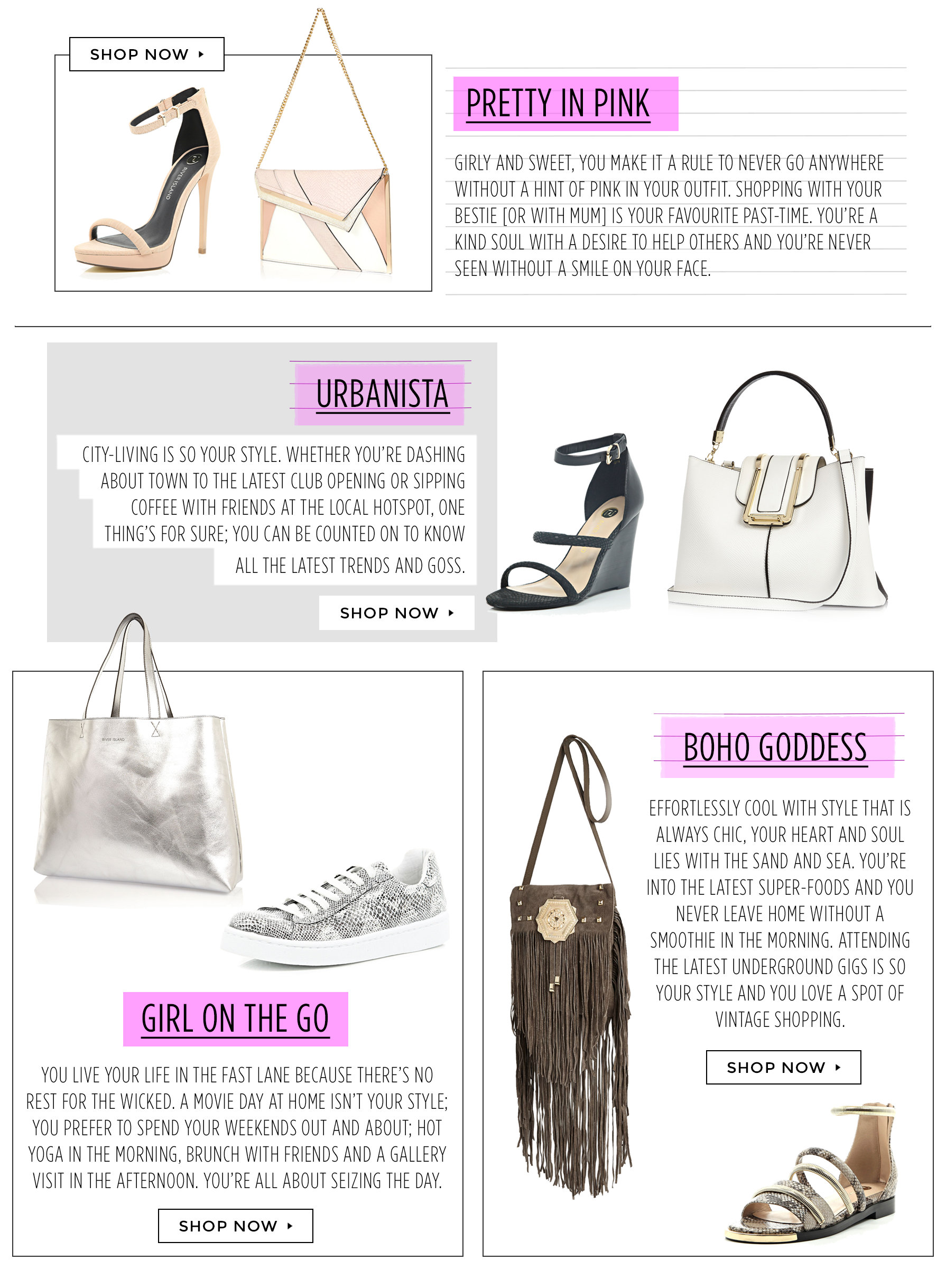 What 39 S Your Accessory Style Take Our Quiz Blog Style Insider River Island