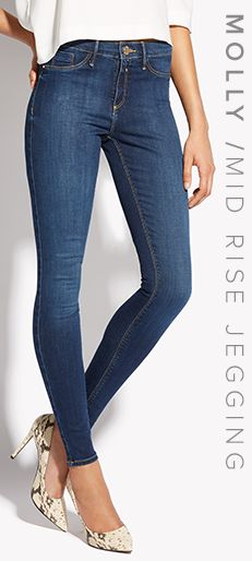 MOLLY / MID RISE JEGGING