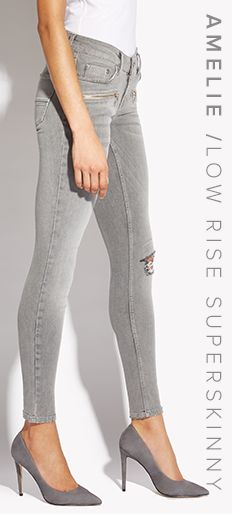 AMELIE / LOW RISE SKINNY