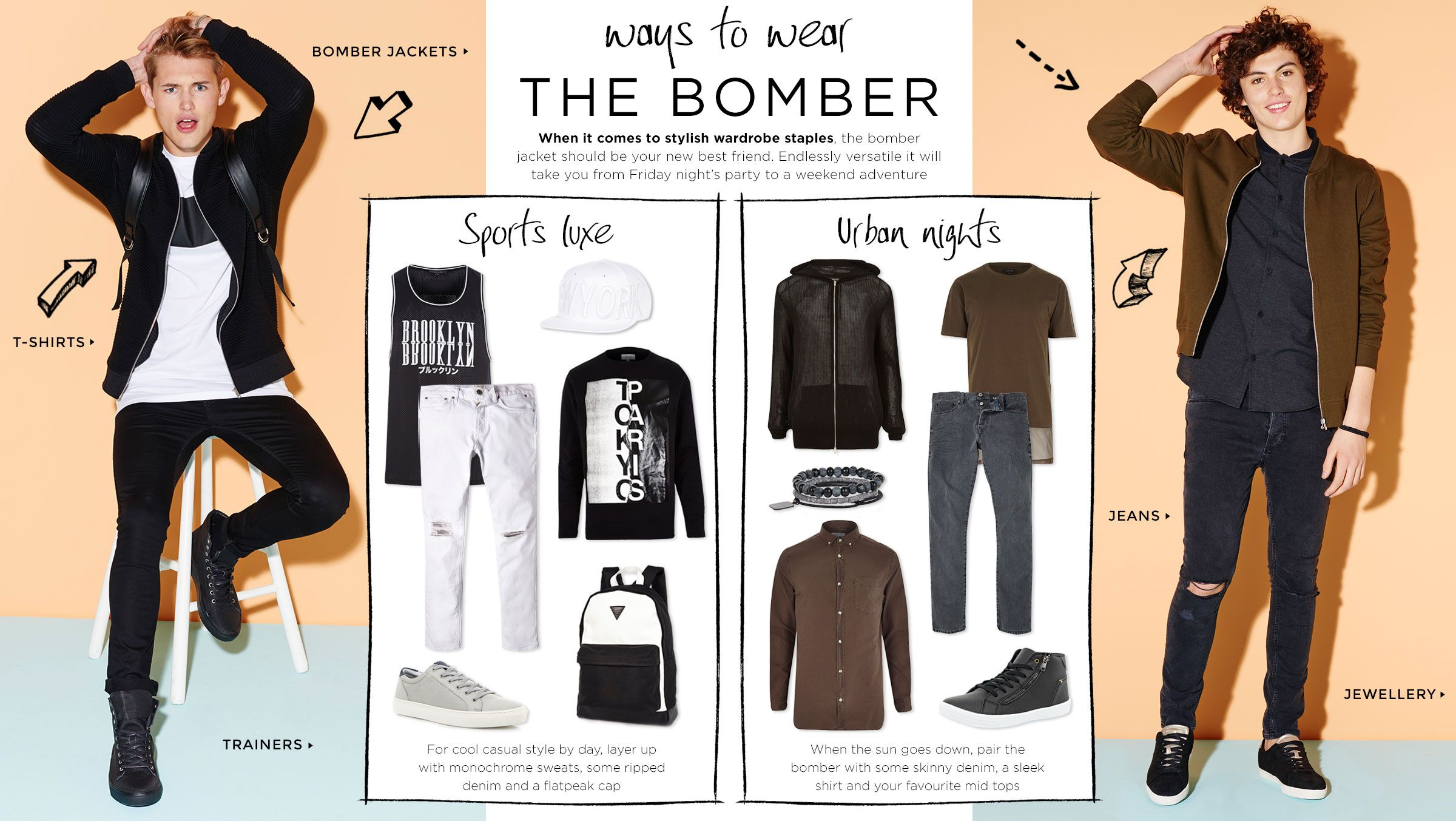 WAYS TO WEAR THE BOMBER