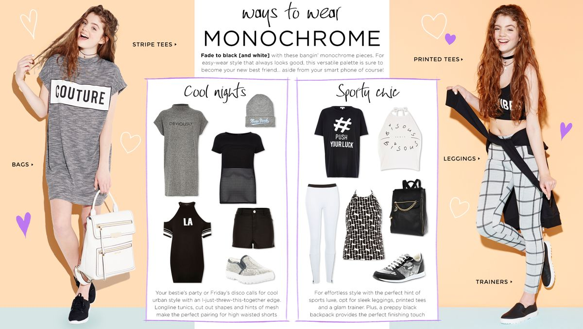 WAYS TO WEAR MONOCHROME