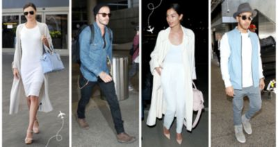 CELEB AIRPORT STYLE