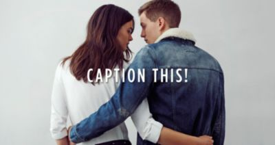 CAPTION THIS! WIN A YEAR'S SUPPLY OF #RIDENIM