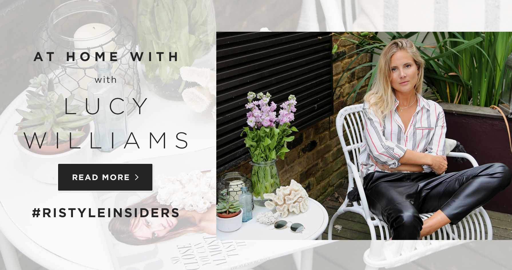 AT HOME WITH LUCY WILLIAMS