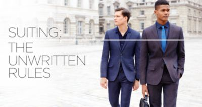UNWRITTEN RULES TO SUITING